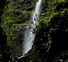 El Chorro Waterfall of Giron III by Al Bourassa
