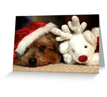 Christmas Friend Greeting Card