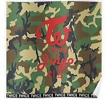 Twice Camo (Jihyo) Poster