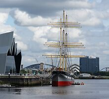 Glasgow Clyde Skyline by quoile