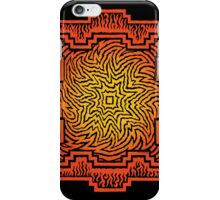 ufurium fire mandala iPhone case iPhone Case/Skin