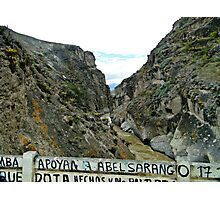 River Canyon in Yunguilla Photographic Print