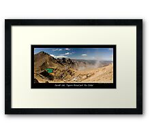 Emerald Lake at Tongariro Alpine Crossing Framed Print