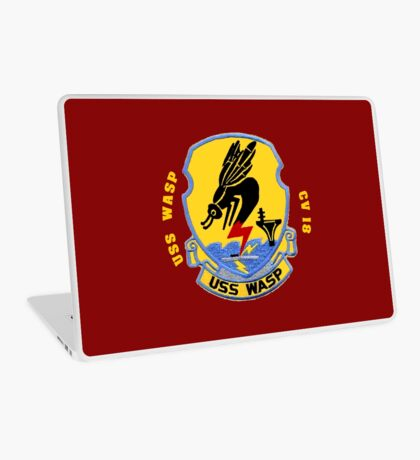 USS Wasp (CV/CVA/CVS-18) for Dark Colors Laptop Skin