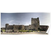 Carrickfergus Castle, Northern Ireland Poster