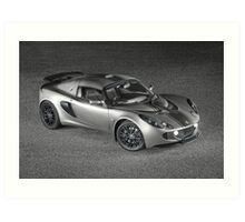 Exige - painted with light - 2 of 2 Art Print