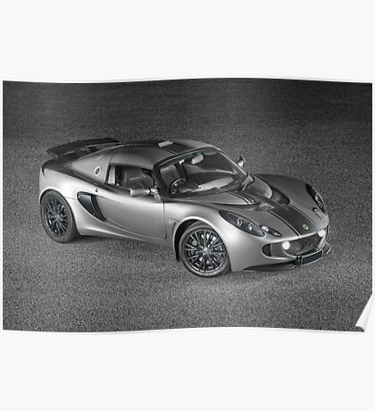 Exige - painted with light - 2 of 2 Poster