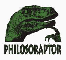 Philosoraptor Kids Clothes