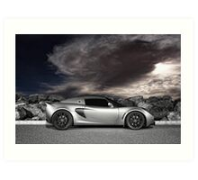 Exige - painted with light - 1 of 2 Art Print