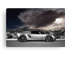 Exige - painted with light - 1 of 2 Canvas Print