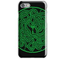 quozarrah green snake iPhone case iPhone Case/Skin