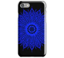 ozorahmi blue mandala iPhone case iPhone Case/Skin