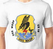 USS Wasp (CV/CVA/CVS-18) Crest Unisex T-Shirt