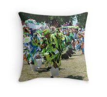 Colorful Parade Throw Pillow