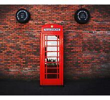 Old Bushmills Telephone Box Photographic Print