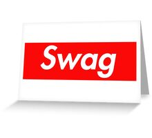Swag Greeting Card