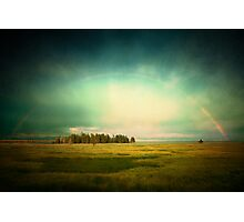 Lake Rainbow Photographic Print