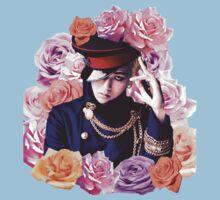GD n Roses Baby Tee