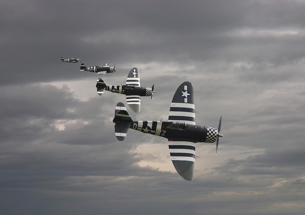 P47 Thunderbolt  -  'Cab Rank' by Pat Speirs
