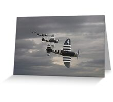 P47 Thunderbolt  -  'Cab Rank' Greeting Card