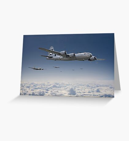 B29-Superfortress Greeting Card