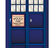 British Police Box by Nick  Greenaway