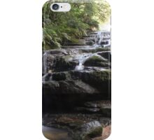 Blue mountains' waters iPhone Case/Skin