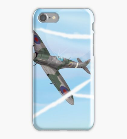 WW2 Vintage British fighter Aircraft iPhone Case/Skin