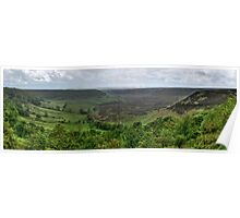 """Hole of Horcum, North Yorkshire"" Poster"