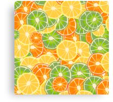 Orange, Lemon and Limes Canvas Print