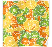 Orange, Lemon and Limes Poster