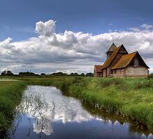 Thomas a Beckett Church, Romney Marsh by Nigel Jones