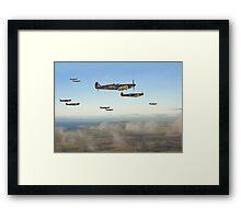 Spitfire - Squadron Inbound  Framed Print