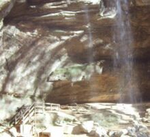 Hocking Hills waterfall Sticker