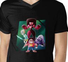 Steven Universe - Crystal Gems Mens V-Neck T-Shirt