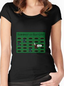 Hammer-a-Horrible Women's Fitted Scoop T-Shirt