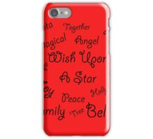 Christmas all around iPhone Case/Skin