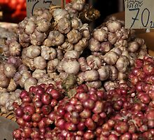 Onions and Garlic by Mark Bolton