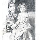 My Grandmother n my aunt by bharath
