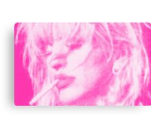 courtney love / pink Canvas Print