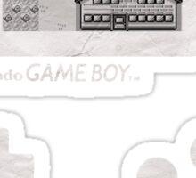 Game Boy - Bleached Nostalgia Sticker