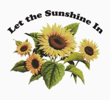 Let the Sunshine In (T-Shirt & Sticker) Kids Clothes