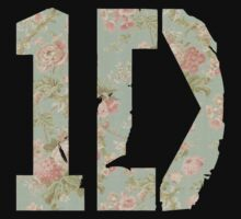 Vintage Floral 1D by Savannah Siders