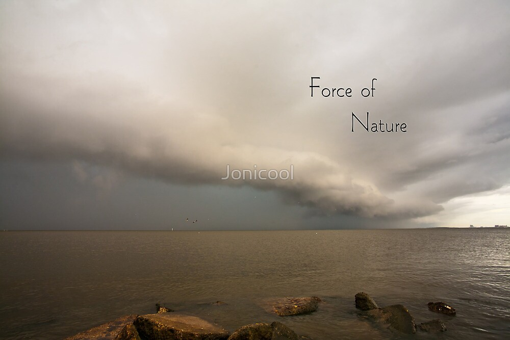 Force of Nature by Jonicool