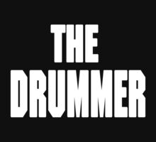 THE DRUMMER (DAVE GROHL / TAYLOR HAWKINS) WHITE by DanFooFighter