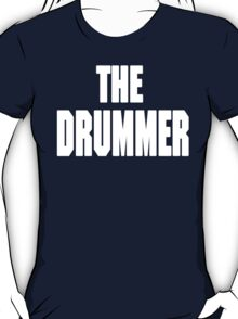 THE DRUMMER (DAVE GROHL / TAYLOR HAWKINS) WHITE T-Shirt