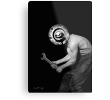 Power Mental Mechanic Metal Print