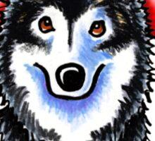 Alaskan Malamute :: First Mate Sticker