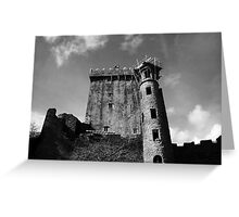 The Looming Castle Greeting Card