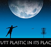 Putt Plastic In Its Place #3 by Phil Perkins